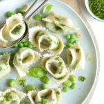 wild garlic tortellini