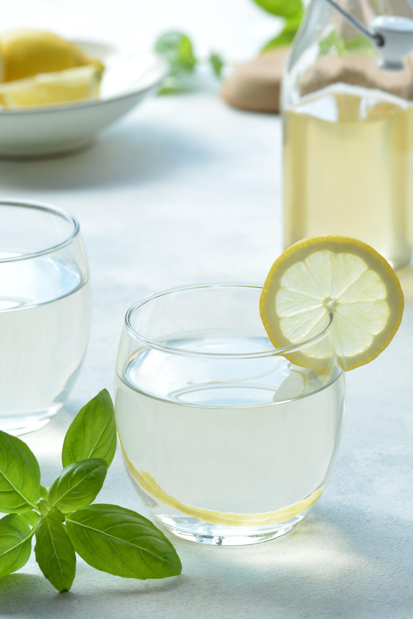 basil lemon syrup
