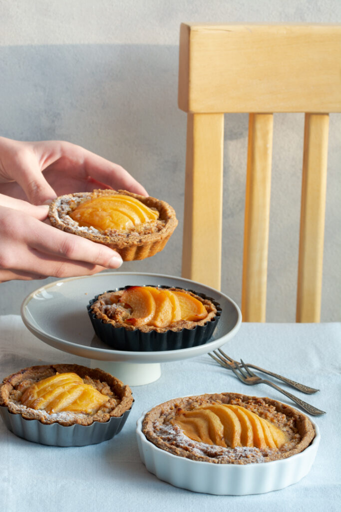quince tartlets